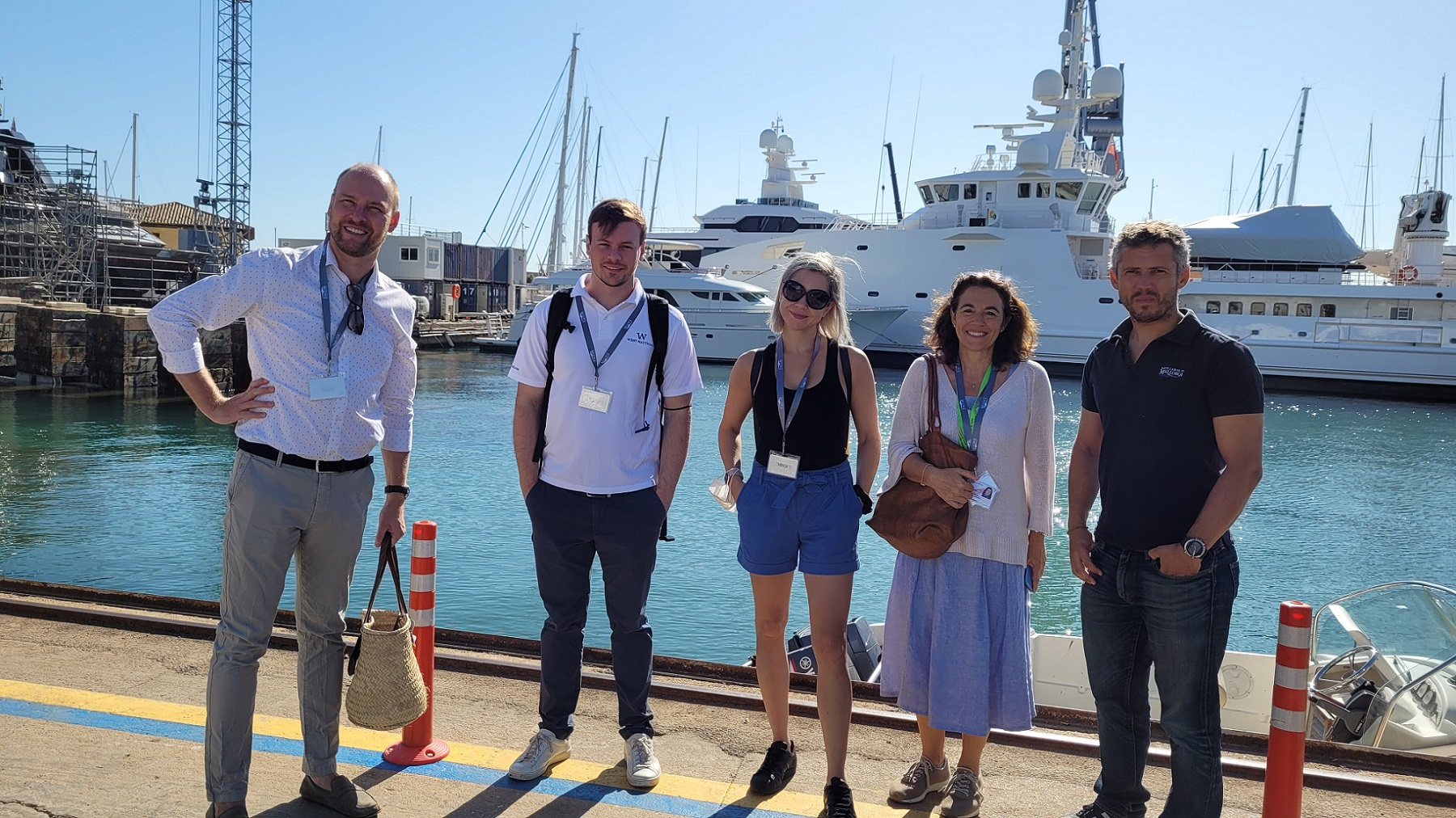 FAM TRIP IN MALLORCA WITH PROFESSIONALS AND EXPERTS OF THE INTERNATIONAL NAUTICAL SECTOR
